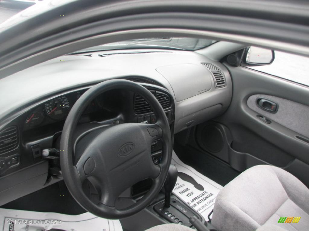 2002 kia spectra ls sedan interior photo 39876547. Black Bedroom Furniture Sets. Home Design Ideas