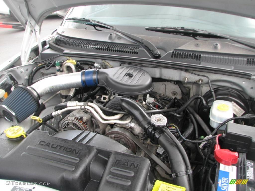 2001 Dodge Dakota Sport Quad Cab Engine Photos