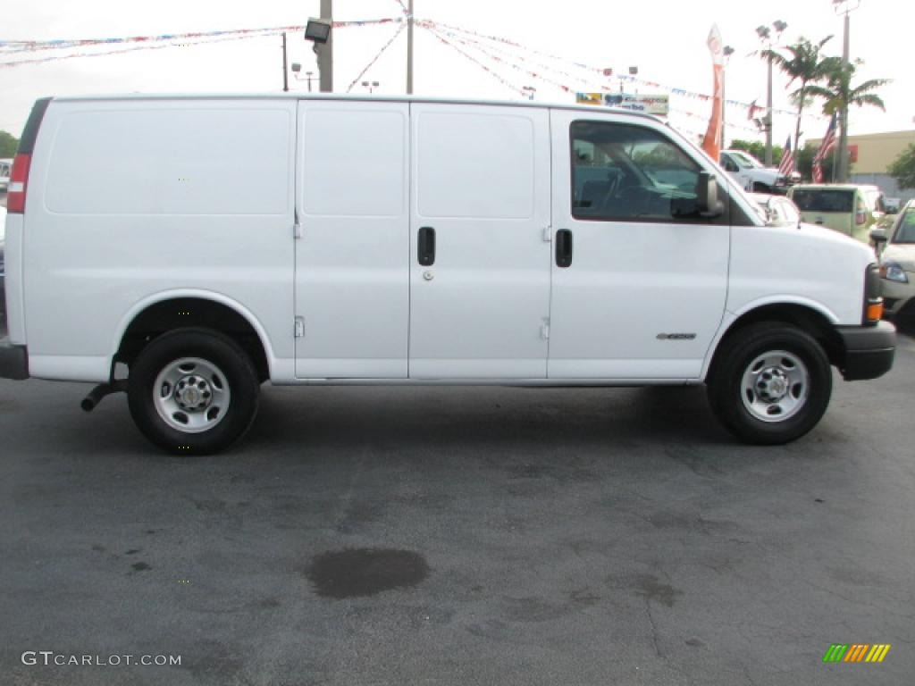 Chevy Express Van White Paint