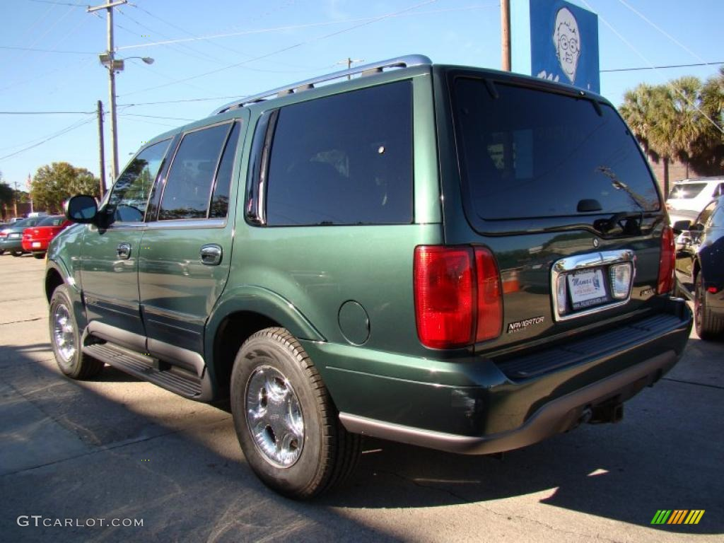 charcoal green metallic 1999 lincoln navigator 4x4. Black Bedroom Furniture Sets. Home Design Ideas