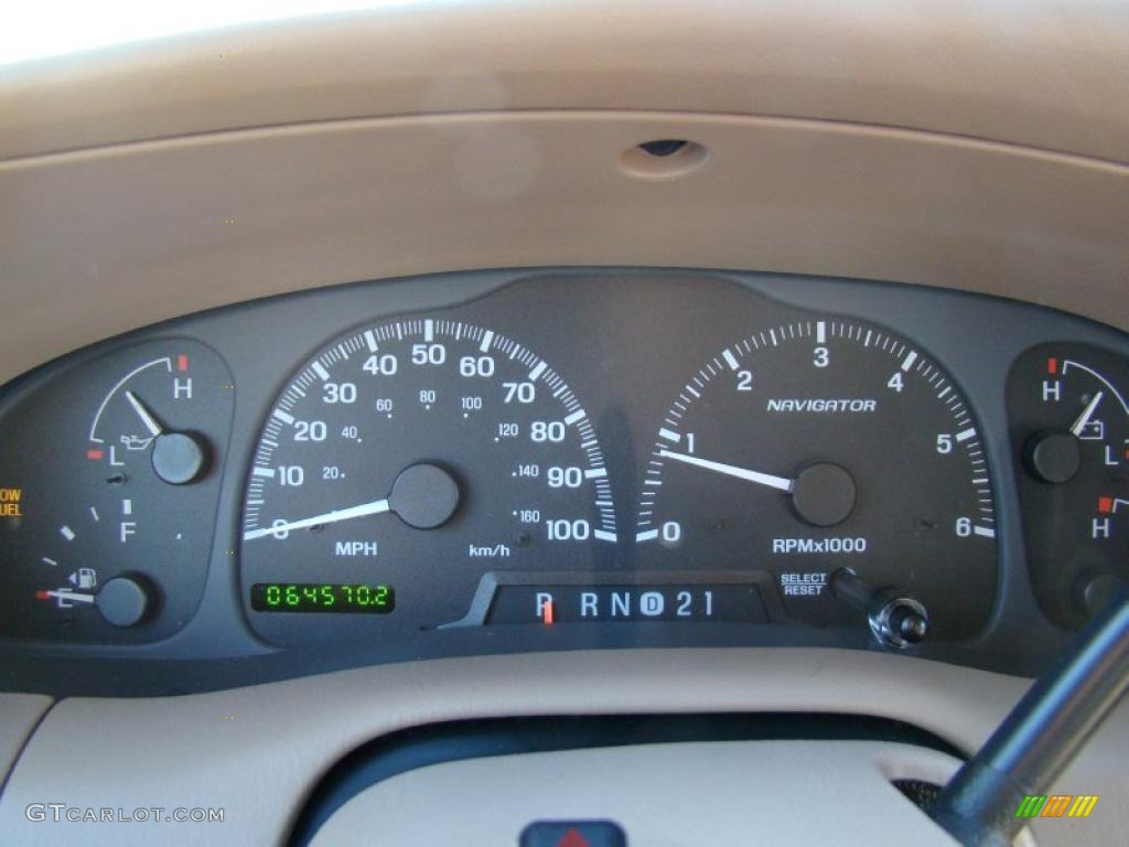 1999 lincoln navigator 4x4 gauges photos. Black Bedroom Furniture Sets. Home Design Ideas