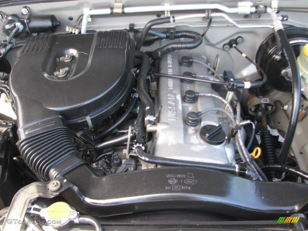2002 Nissan Frontier King Cab 2.4 Liter DOHC 16 Valve 4 Cylinder Engine  Photo #