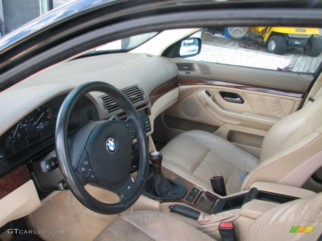 sand beige interior 2001 bmw 5 series 530i sedan photo. Black Bedroom Furniture Sets. Home Design Ideas