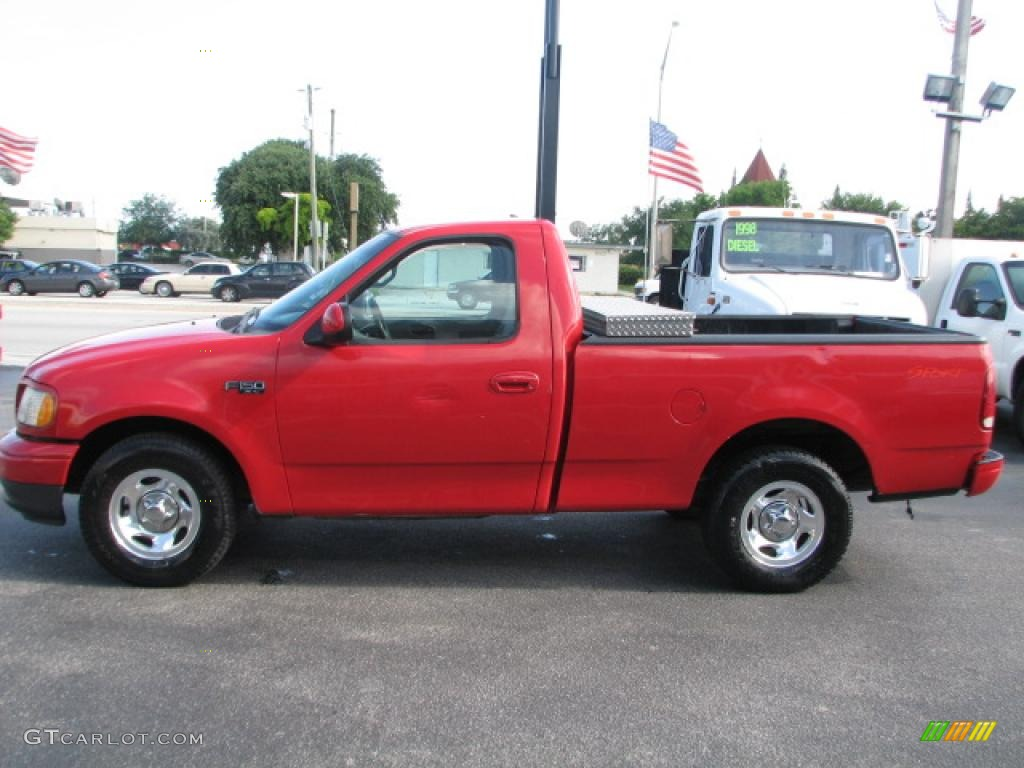 1999 bright red ford f150 xl regular cab 39740626 photo 6 gtcarlot com car color galleries