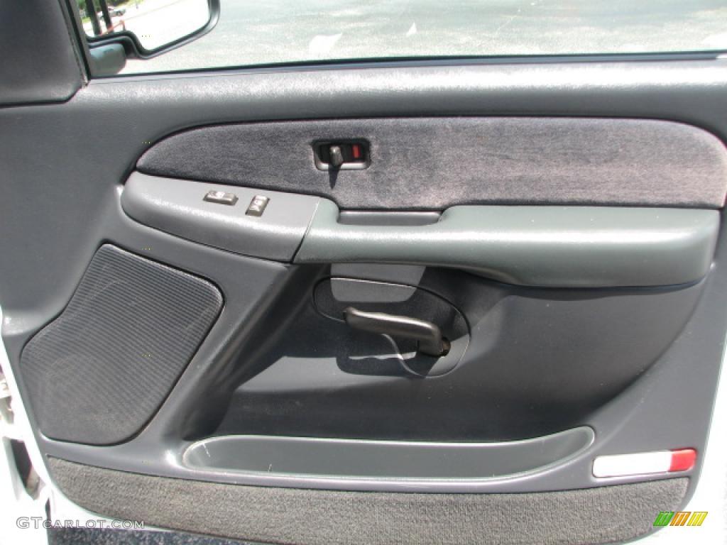 2000 Chevrolet Silverado 1500 Extended Cab Graphite Door Panel Photo 39884916
