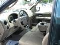 Tan 2007 Ford F150 Interiors