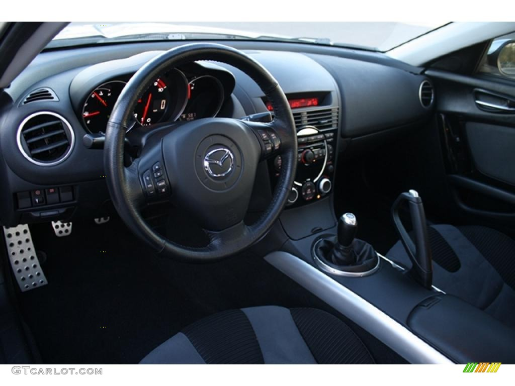 Black Interior 2005 Mazda RX-8 Standard RX-8 Model Photo #39892184 ...