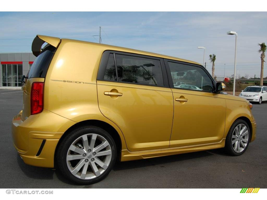 2008 gold rush mica scion xb release series 5 0 3974100 photo 5 car color. Black Bedroom Furniture Sets. Home Design Ideas