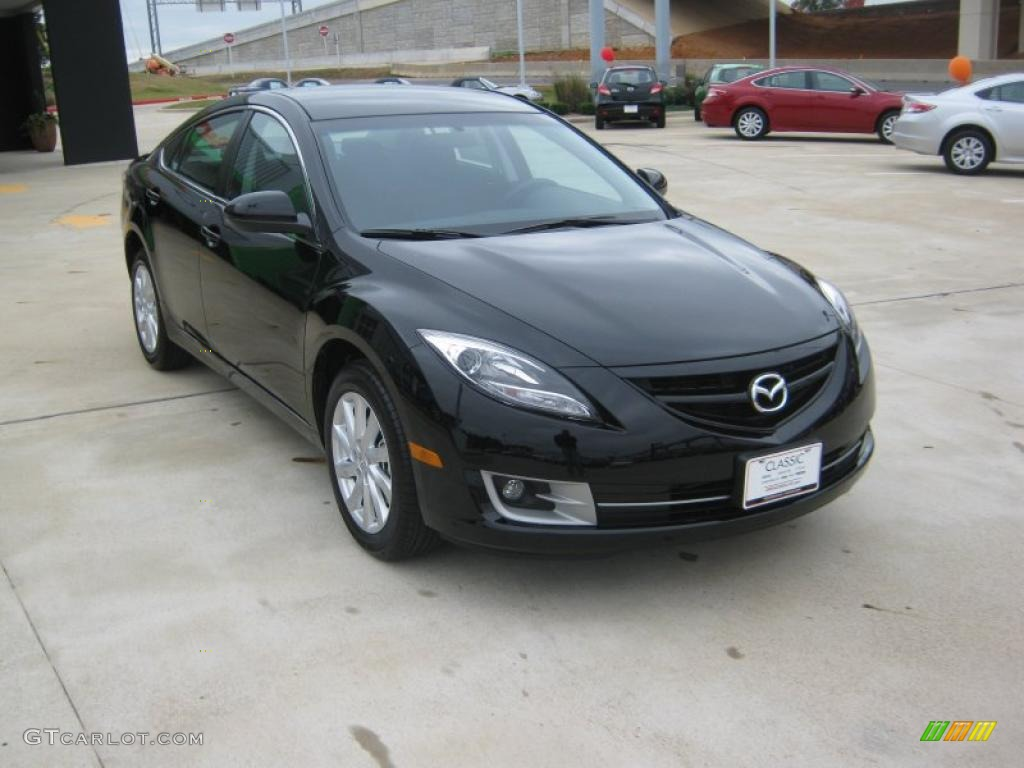 Ebony Black 2011 Mazda Mazda6 I Touring Sedan Exterior Photo 39900111 Gtcarlot Com