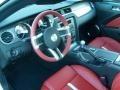 2010 Ford Mustang Brick Red Interior Prime Interior Photo