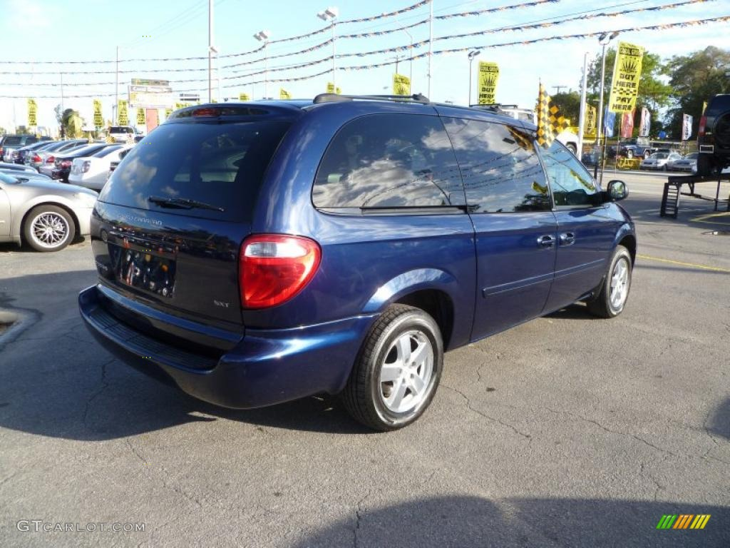 midnight blue pearl 2005 dodge grand caravan sxt exterior. Black Bedroom Furniture Sets. Home Design Ideas