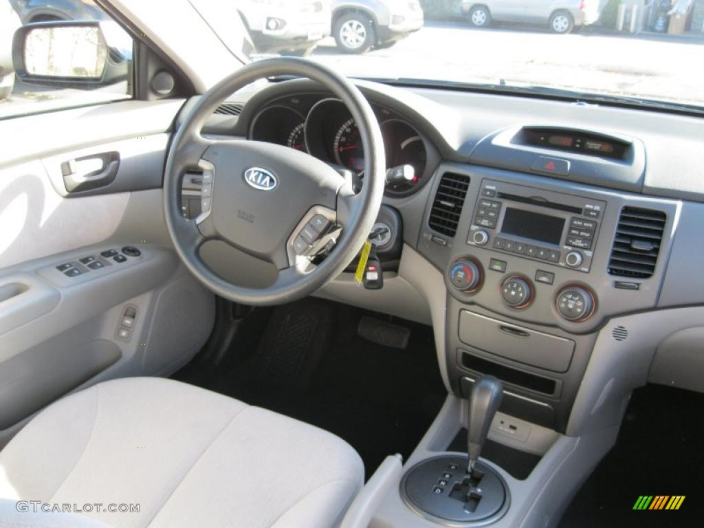 2010 Kia Optima Lx Gray Dashboard Photo 39914283
