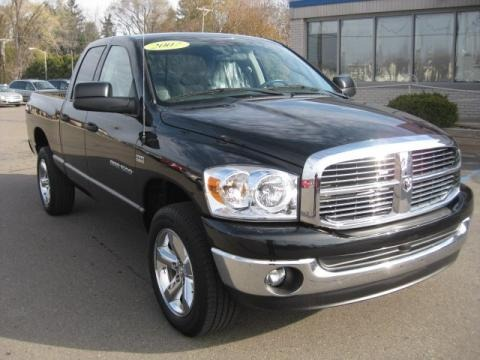 2007 Dodge Ram 1500 Big Horn Edition Quad Cab 4x4 Data, Info and Specs