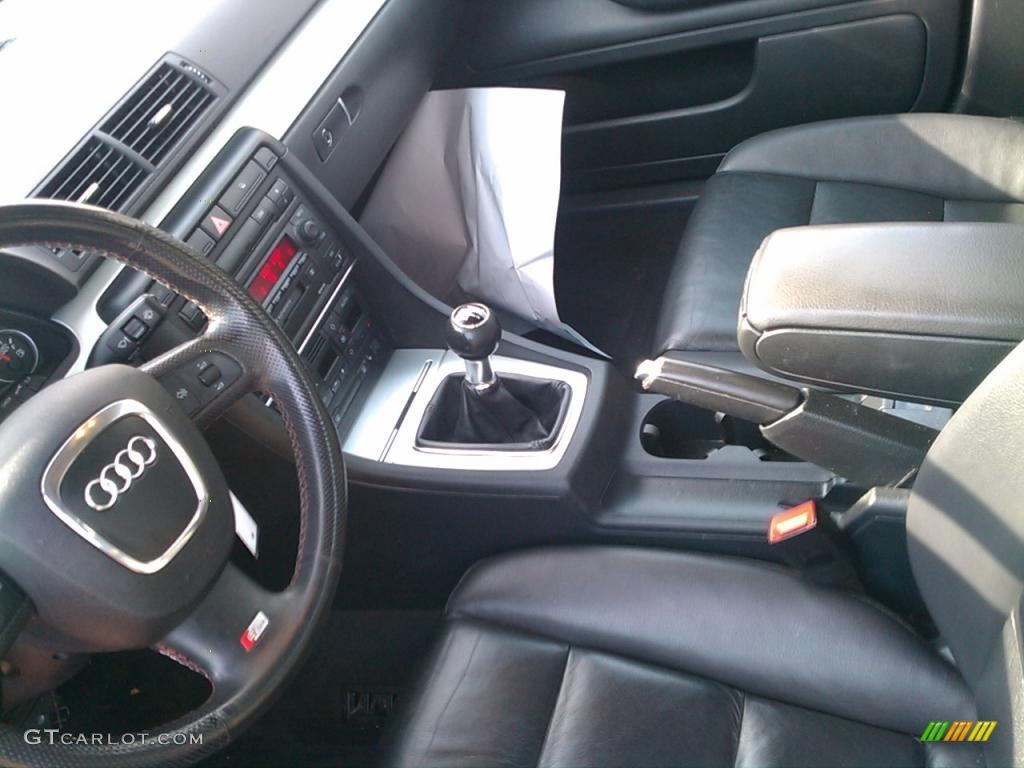 ebony interior 2006 audi a4 2.0t quattro sedan photo #39926020