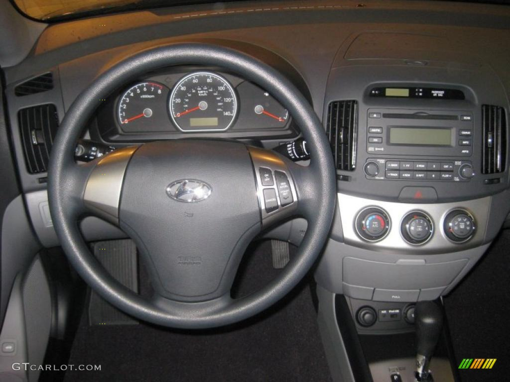 2010 Hyundai Elantra Gls Gray Dashboard Photo 39937032
