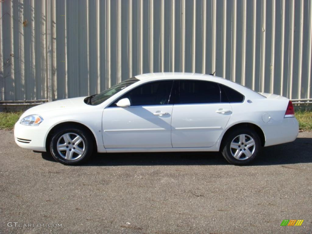 White 2007 Chevrolet Impala Ls Exterior Photo 39937528