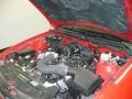 2007 Torch Red Ford Mustang V6 Deluxe Coupe  photo #34