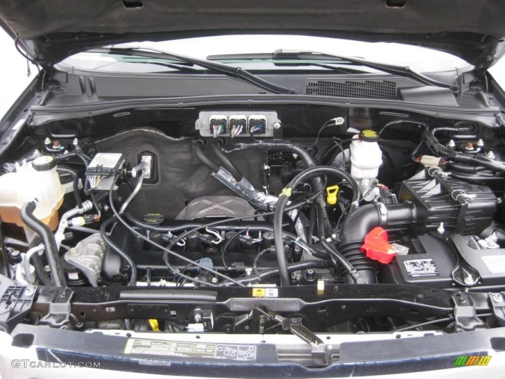 2008 Ford Escape Xlt 4wd 2 3 Liter Dohc 16 Valve Duratec 4
