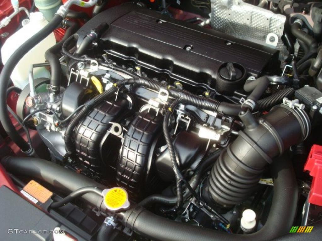 2009 Mitsubishi Lancer DE 20L DOHC 16V MIVEC Inline 4 Cylinder