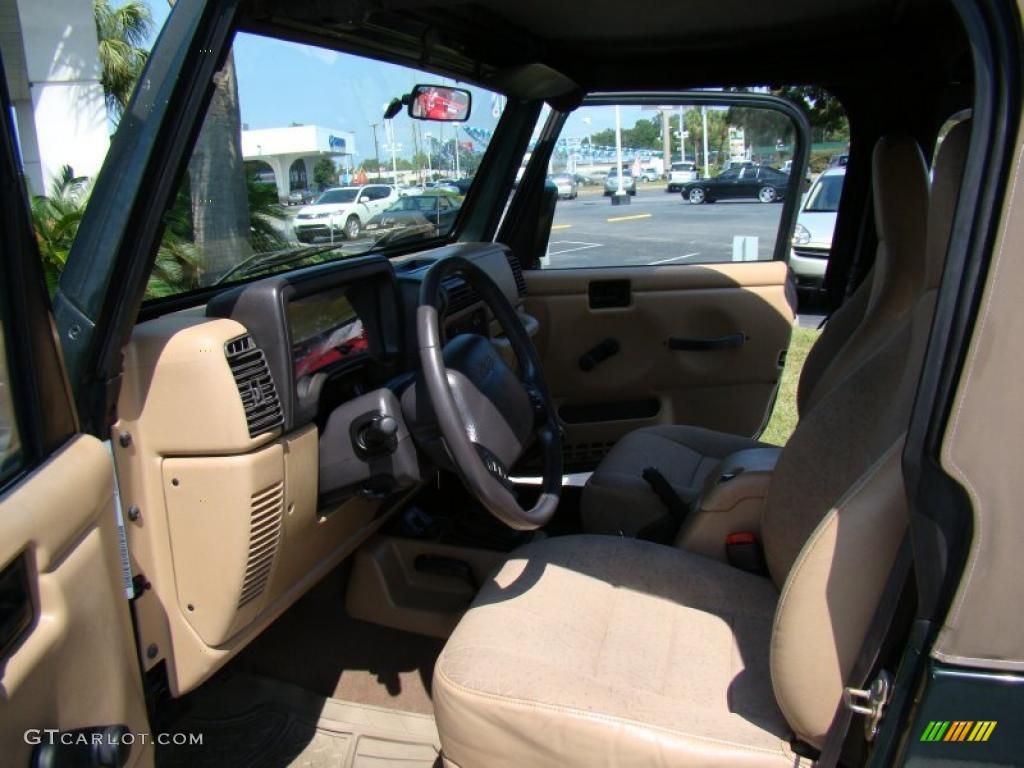 2002 Jeep Wrangler Sport 4x4 Interior Photo 39950934
