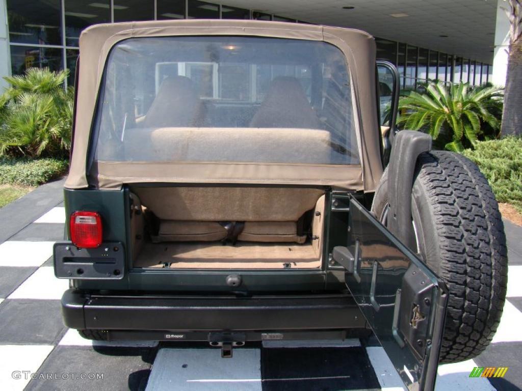 1995 Jeep Wrangler Se 2002 Jeep Wrangler Sport 4x4 Trunk Photos | GTCarLot.com