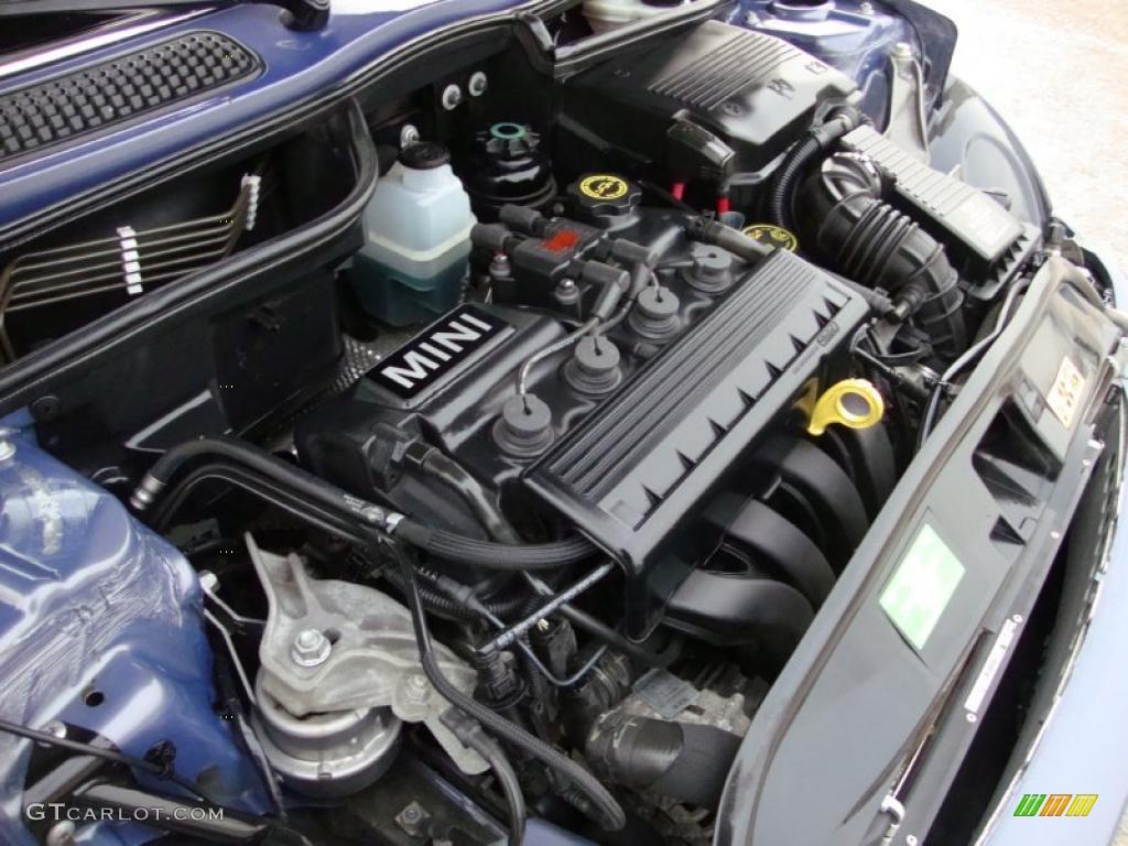 2005 mini cooper convertible 1 6l sohc 16v 4 cylinder engine photo 39958938. Black Bedroom Furniture Sets. Home Design Ideas