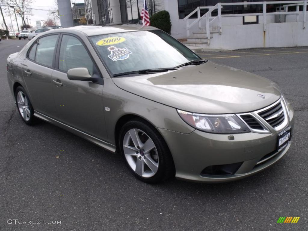 Pepper green metallic saab 9 3
