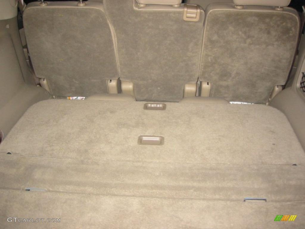 2003 Ford Explorer XLT Trunk Photos