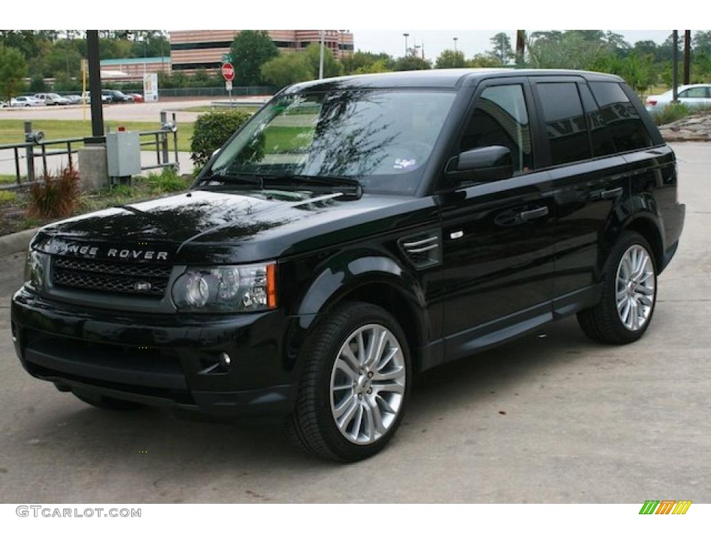 santorini black metallic 2011 land rover range rover sport. Black Bedroom Furniture Sets. Home Design Ideas