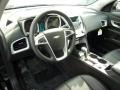 Jet Black 2011 Chevrolet Equinox Interiors
