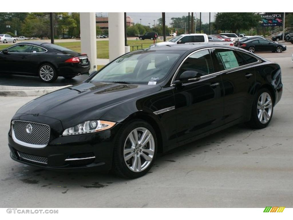 Ultimate black metallic 2011 jaguar xj xj exterior photo for Jaguar xj exterior