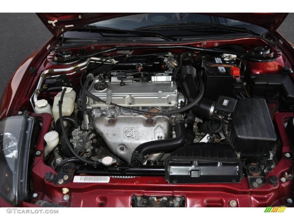 2001 Mitsubishi Eclipse Spyder GS 2.4 Liter SOHC 16 Valve ...