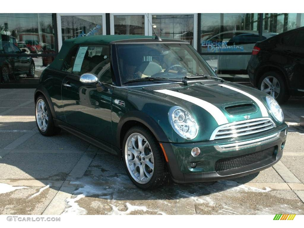 2008 British Racing Green Metallic Mini Cooper S