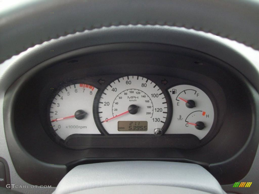 2004 Hyundai Accent Gt Coupe Gauges Photos Gtcarlot Com