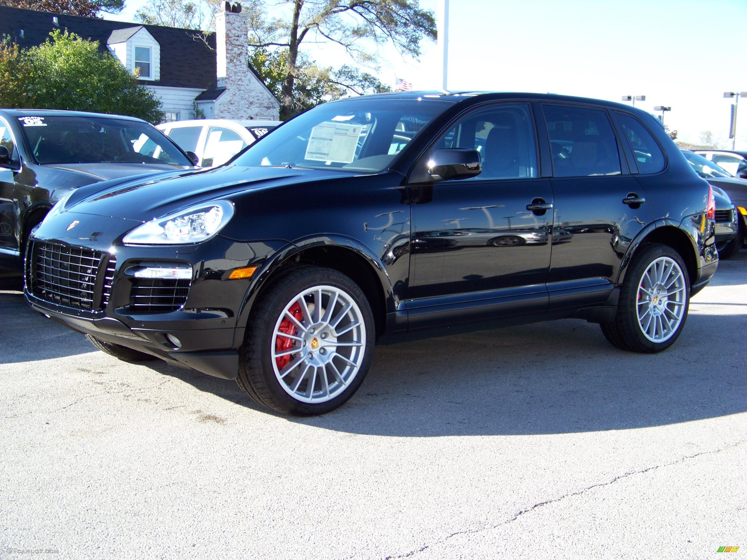 2009 Black Porsche Cayenne Turbo S #348419 | GTCarLot.com - Car ...