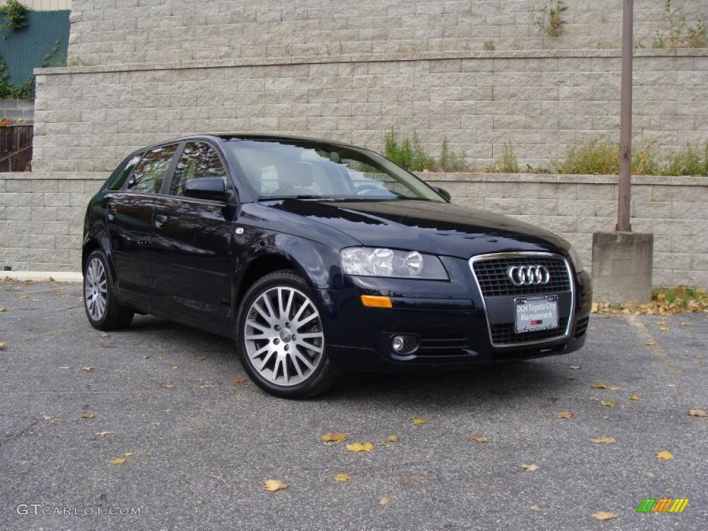 2008 deep sea blue pearl effect audi a3 2 0t 39944052. Black Bedroom Furniture Sets. Home Design Ideas