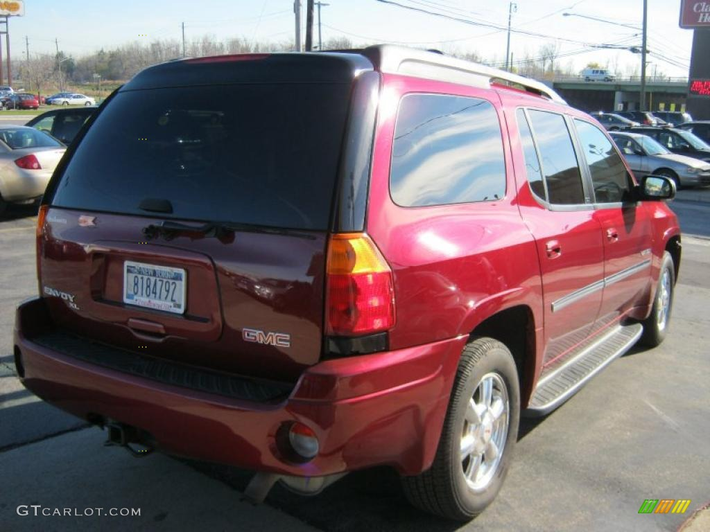 2006 red jewel metallic gmc envoy xl slt 4x4 39944060. Black Bedroom Furniture Sets. Home Design Ideas