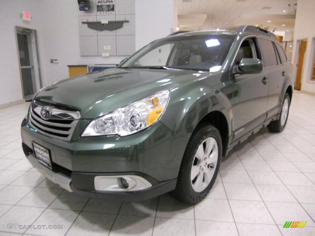 2010 cypress green pearl subaru outback 36r limited wagon cypress green pearl subaru outback vanachro Gallery