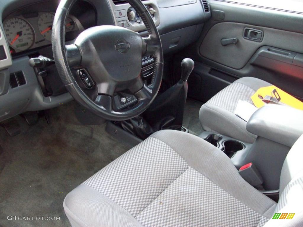 2001 nissan frontier se v6 king cab 4x4 interior photos. Black Bedroom Furniture Sets. Home Design Ideas