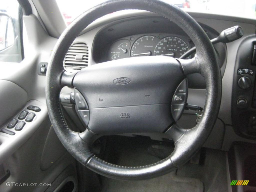 2000 Ford Explorer Xlt 4x4 Dark Graphite Steering Wheel