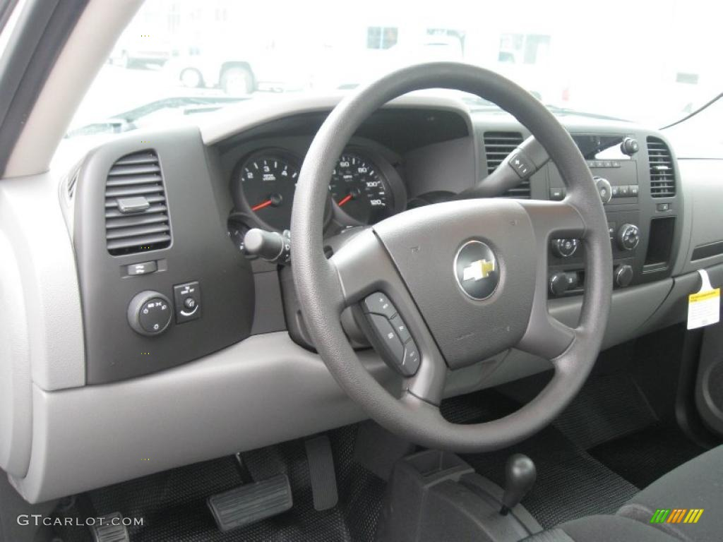 2011 Chevrolet Silverado 1500 Regular Cab 4x4 Steering Wheel Photos