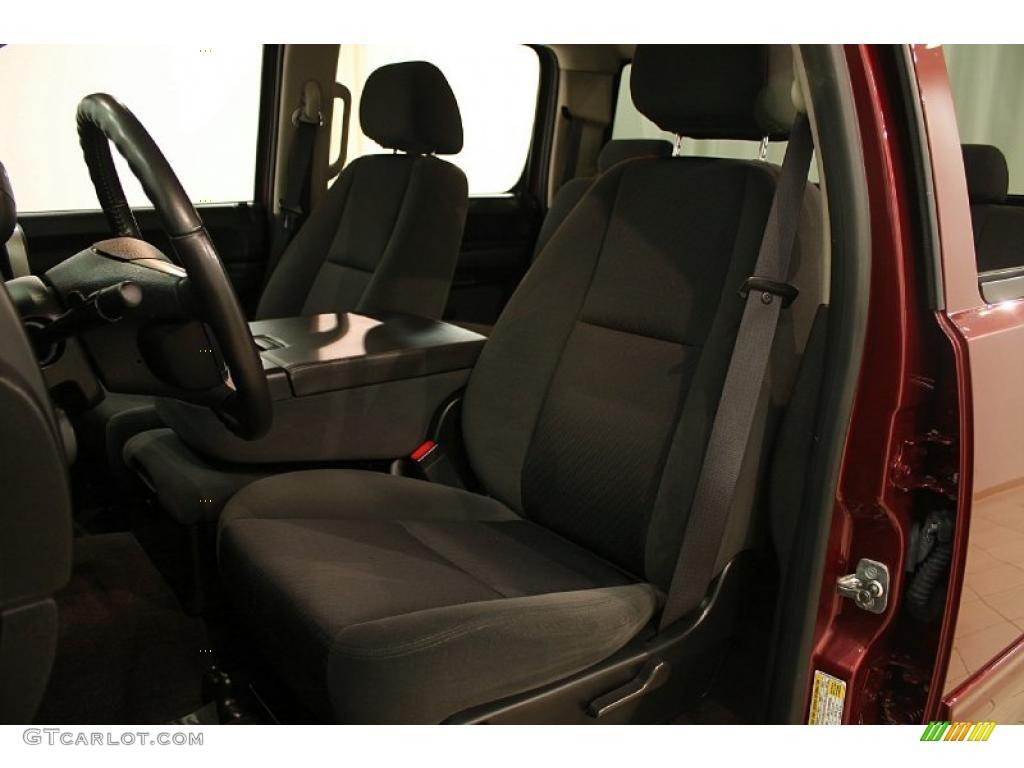 2009 Silverado 1500 LT Crew Cab 4x4 - Deep Ruby Red Metallic / Ebony photo #9