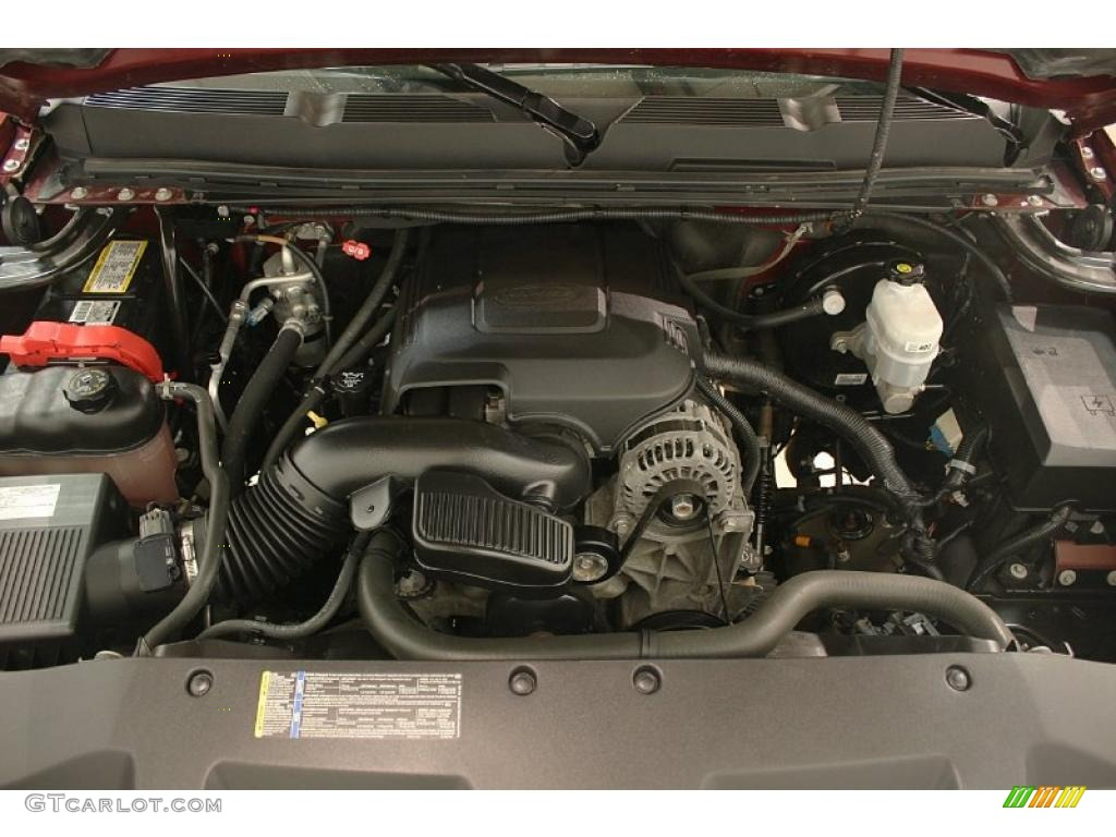 2009 Silverado 1500 LT Crew Cab 4x4 - Deep Ruby Red Metallic / Ebony photo #20