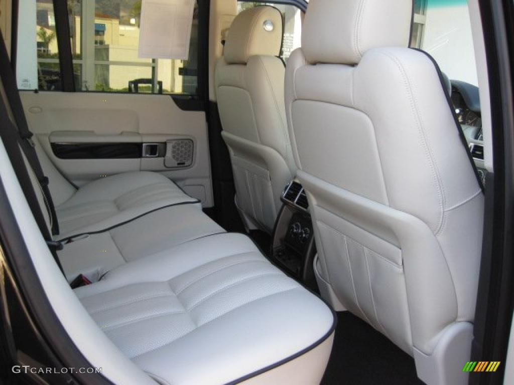 Ivory White Jet Black Interior 2010 Land Rover Range Rover Hse Photo 40038694
