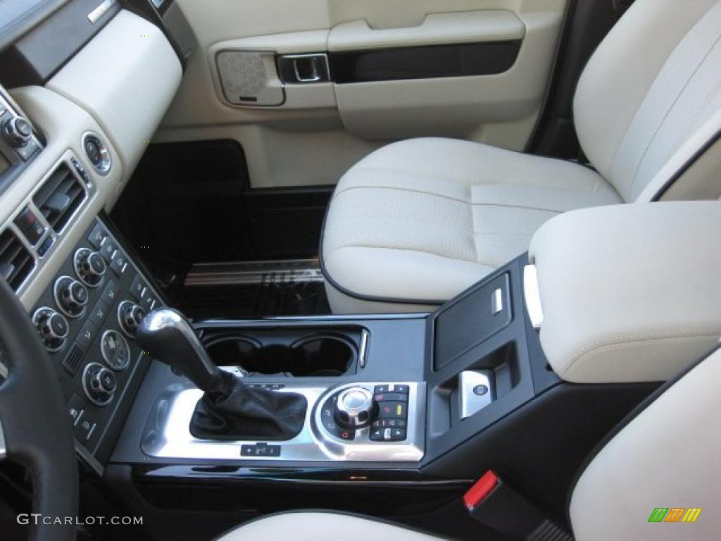 Ivory White Jet Black Interior 2010 Land Rover Range Rover Hse Photo 40038730