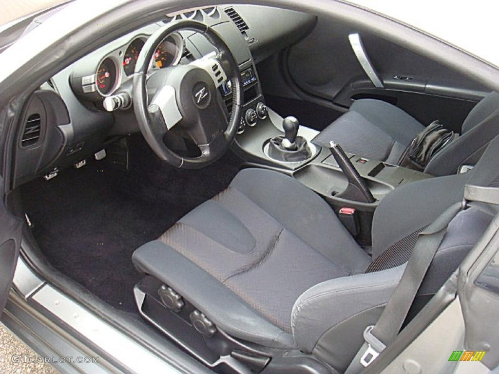carbon interior 2005 nissan 350z coupe photo 40041230. Black Bedroom Furniture Sets. Home Design Ideas