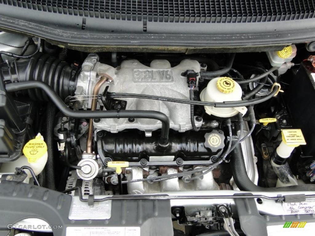 2001 Dodge Grand Caravan Ex 3 8 Liter Ohv 12