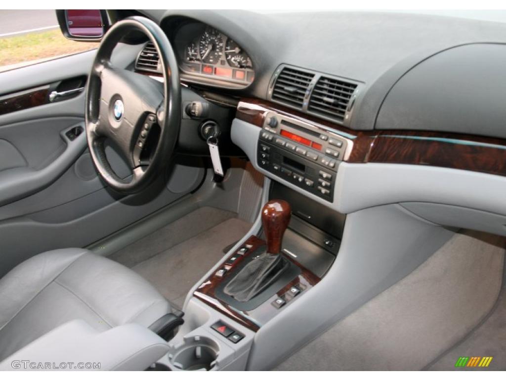 2001 Bmw 3 Series 325i Sedan Grey Dashboard Photo 40051850