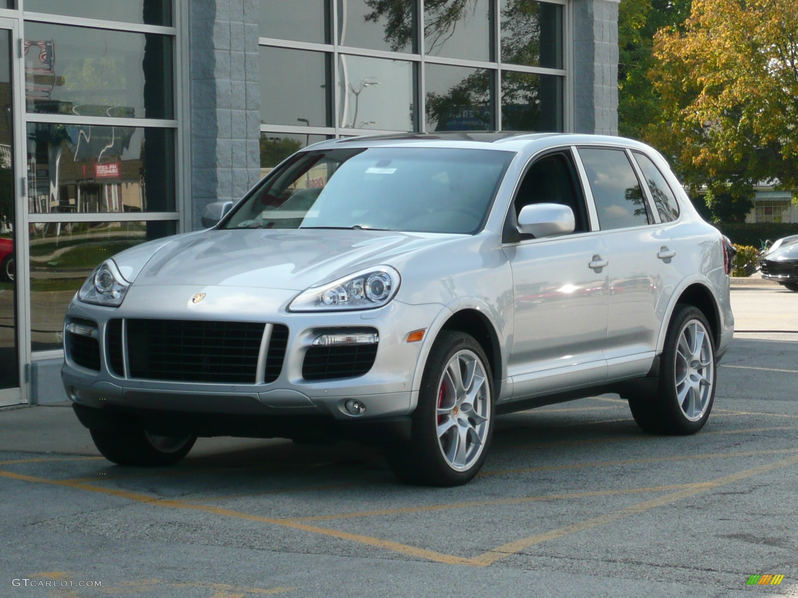 2008 crystal silver metallic porsche cayenne turbo 40054 car color galleries. Black Bedroom Furniture Sets. Home Design Ideas