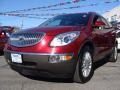 2010 Red Jewel Tintcoat Buick Enclave CXL AWD  photo #3